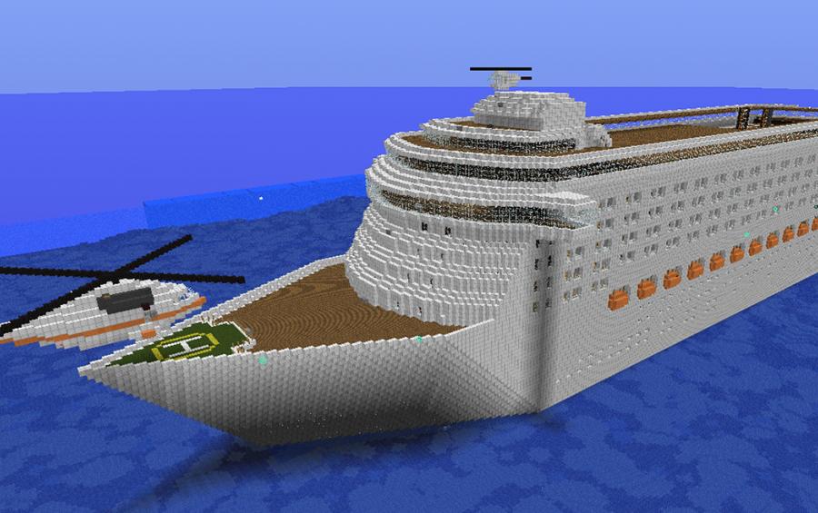 Cruise Ship Extreme Size Creation 938