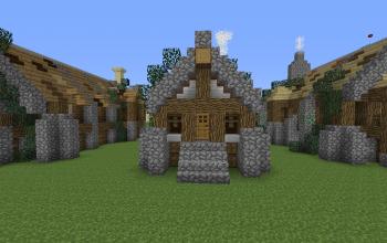 Rustic Short House 1