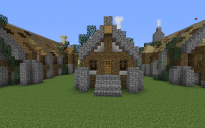 Rustic Short House 1