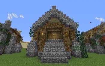 Rustic Long House 1