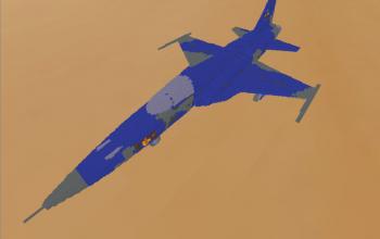 F5E Tiger II Plane