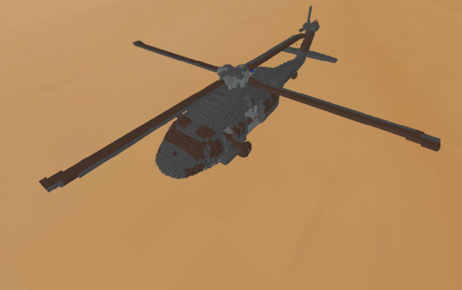 UH60 Blackhawk Helicopter, creation #9404 on