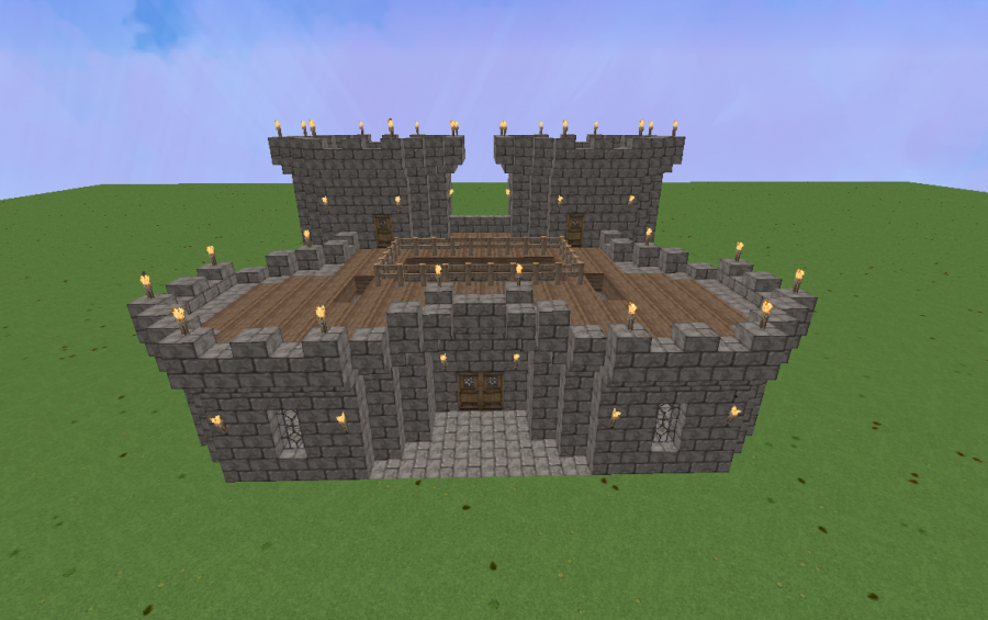 Small medieval castle creation 9408 for Small castle designs