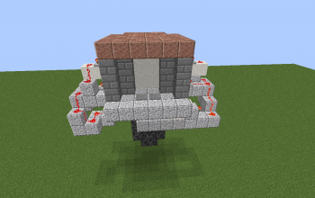 Door with trap