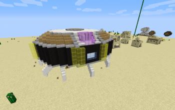 Lord Freeza's spaceship