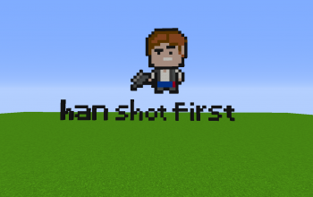 Han shot first pixel art