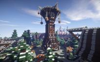 Abadorian Powered Clock Tower