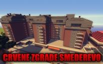 Red Buildings Smederevo, Serbia