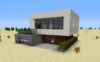 S Modern house