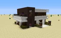 M modern house
