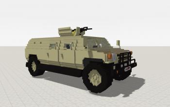 Armoured Truck (Desert)