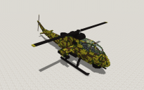 Assault Helicopter (Body)