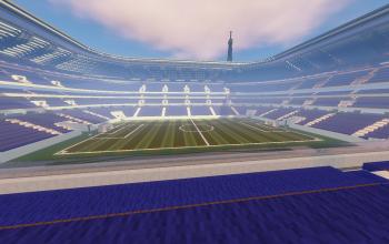 Full Sized Soccer Stadium