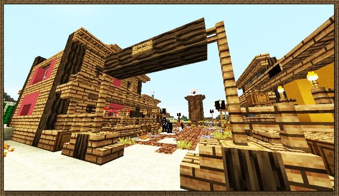 Wild west spawn town, creation #960 | 672 x 390 jpeg 263kB