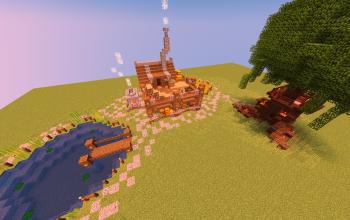 Medieval Stilt House / TreeHouse