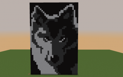как сделать волка на флаге в майнкрафт #3