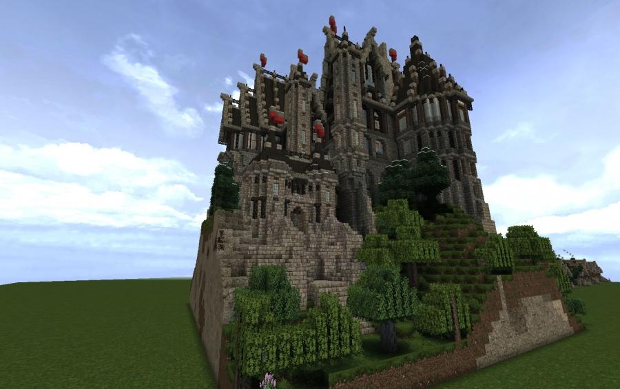 Minecraft Castles creations