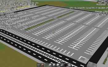 Massive Parking Lot