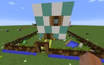 Modern fantasy house