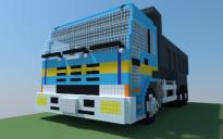 Dump Truck (Pixel Art)