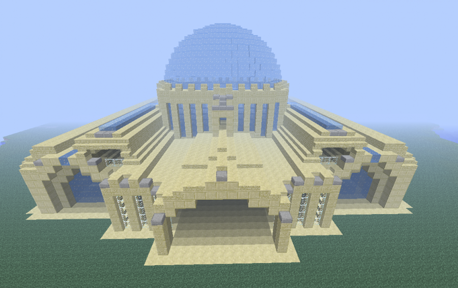 Sand Ice Palace Creation 983