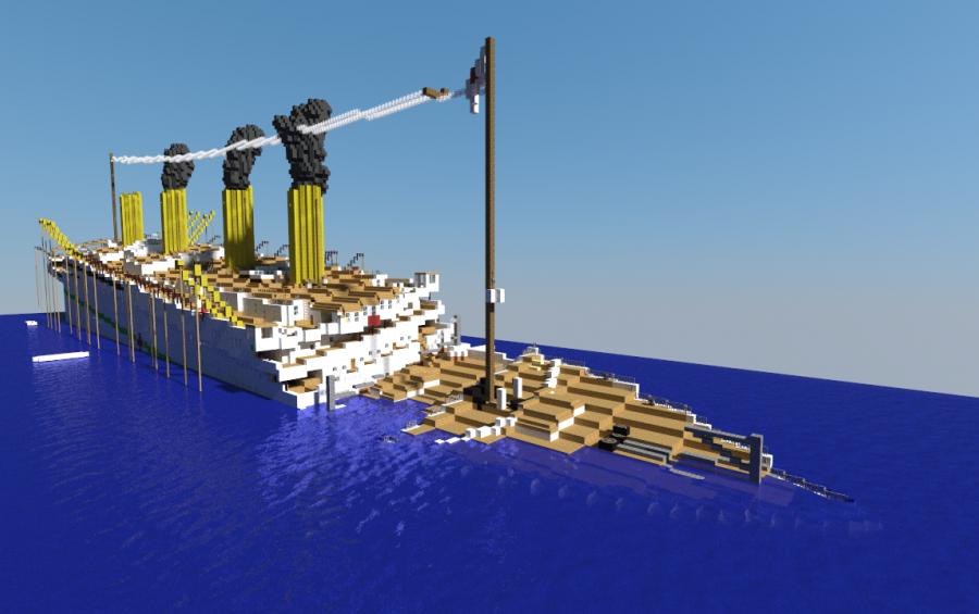 H M H S Britannic Sinking Creation 986