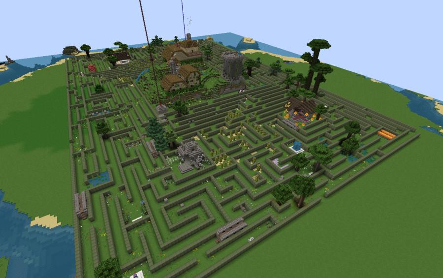 minecraft gardens creations