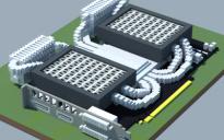 Water-cooled GPU (Own design)