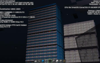 Minecraftdinium (Blue)