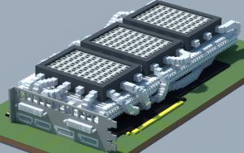 Water-cooled GPU 2 (Own design)