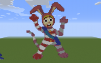 Popee the Performer Pixel Art