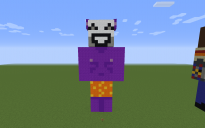 Kedamono Pixel Art Statue
