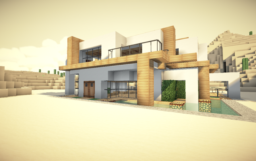 Modern minecraft house blueprints hot girls wallpaper for Modern house schematic