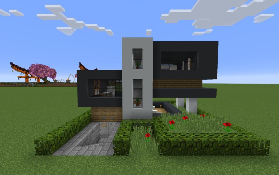 Simple Modern Concrete Home Creation 10631