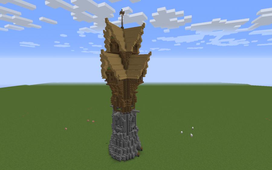 Fantasy Wizard Tower, creation #11012