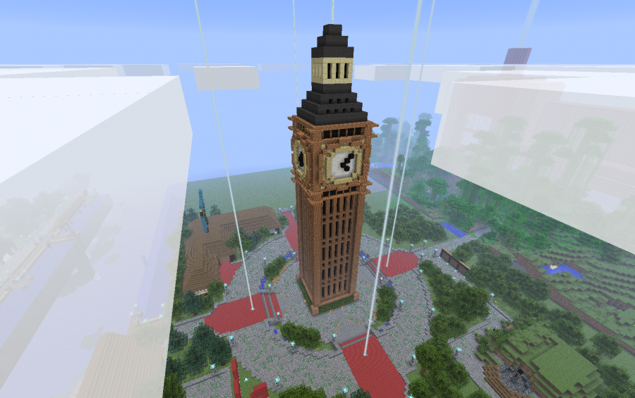 Big Ben tower. Big Ben tower  creation  1325
