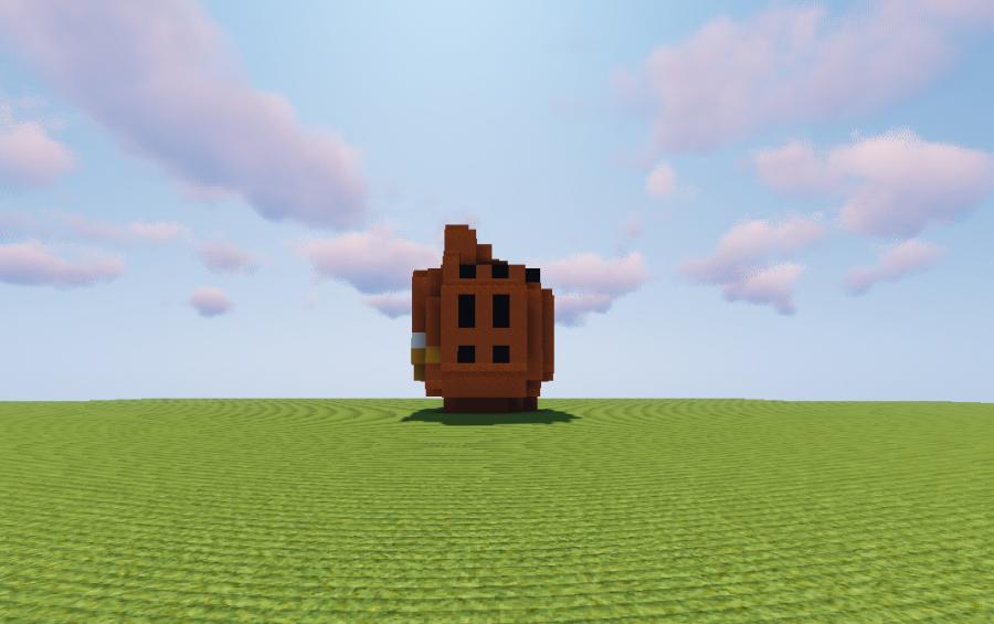 Garfield Head Creation 13250