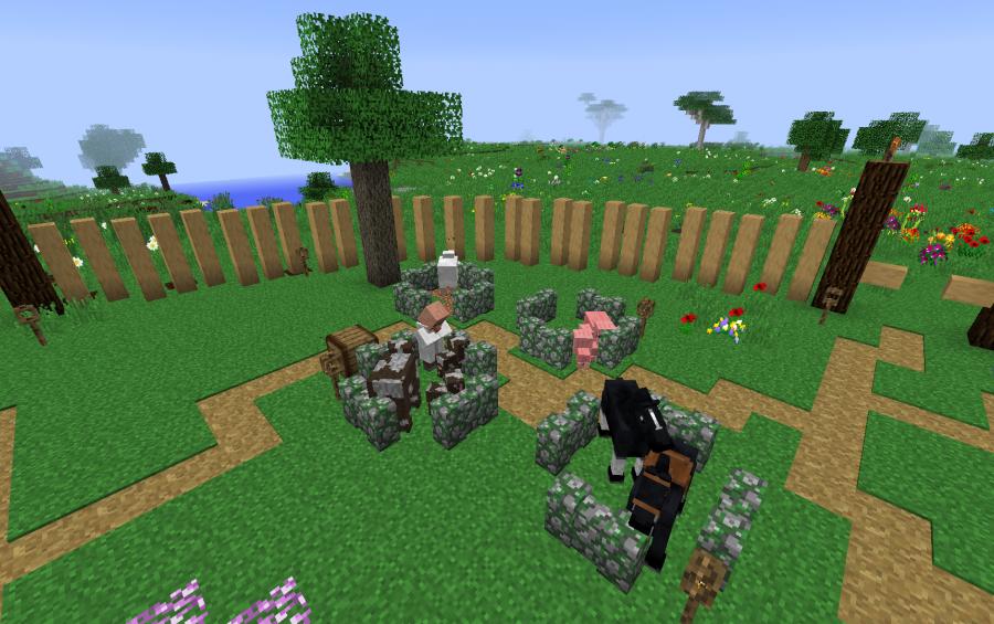 Sevtech Ages starting base - Sakura village, creation #13650