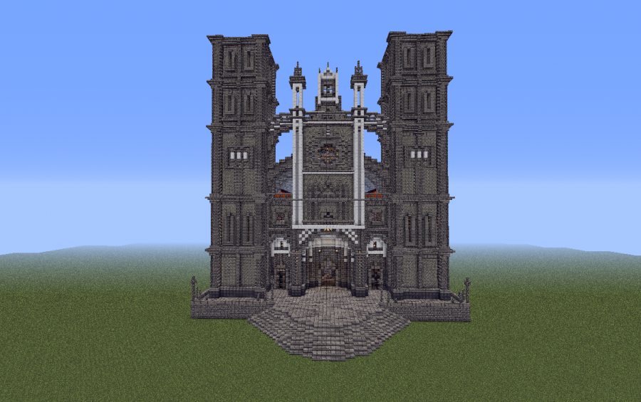 Santos Cathedral, creation #160 on minecraft kingdom map, minecraft ideas, minecraft lighthouse, minecraft 747 crash, minecraft wool art, minecraft adventure time, minecraft bom, minecraft charts, minecraft tools, minecraft controls, minecraft books, minecraft texture packs, minecraft projects, minecraft designs, minecraft at at, minecraft nether dragon, minecraft airport, minecraft dragon head, minecraft stuff,