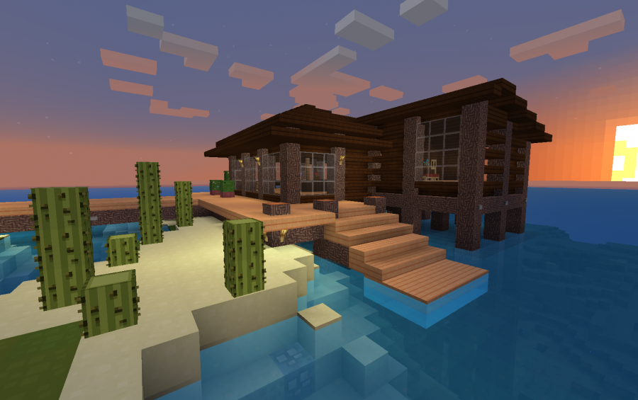 House On Stilts Creation 2082