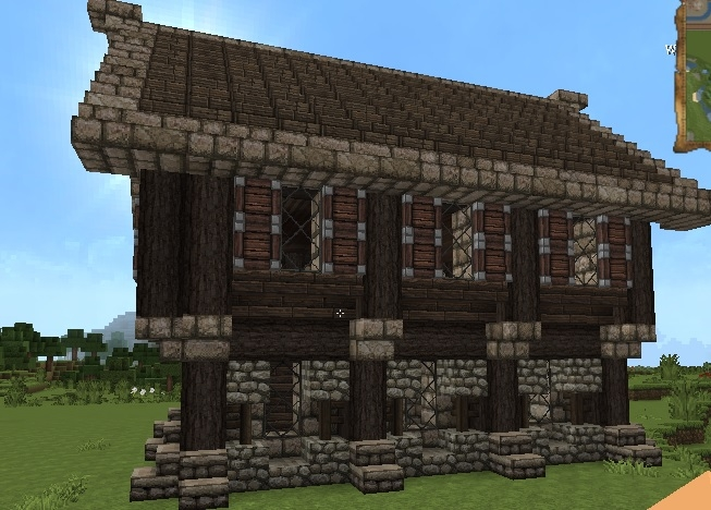 Medieval House Small Creation 2385