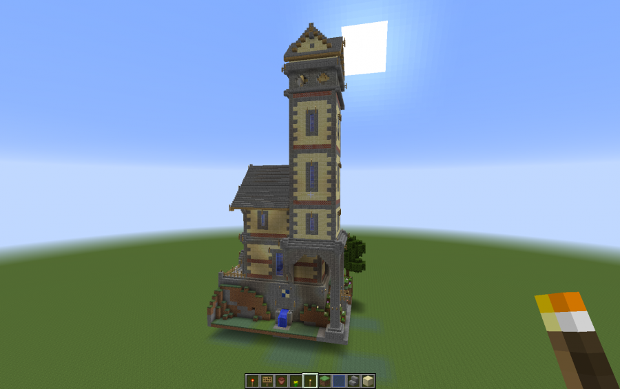 . Coffin Lodge Tower House  creation  2714