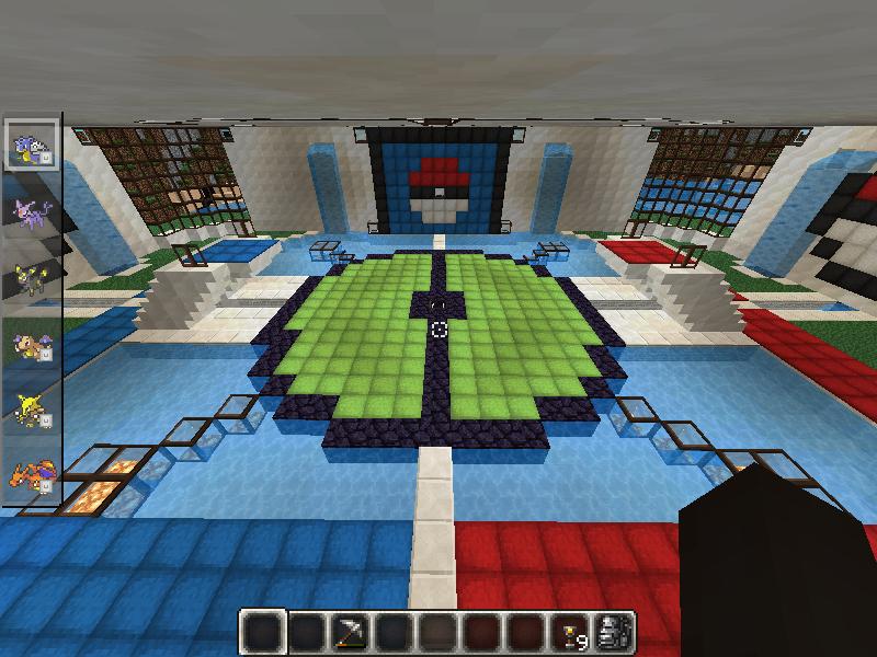 Pixelmon Sacred Water Gym  Creation  2786