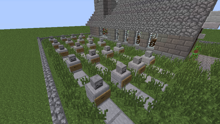 Church With Cemetery Updated For 1 7 Creation 2926