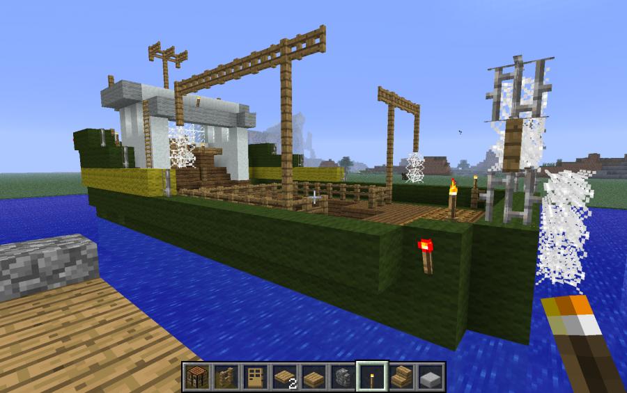 Fishing boat, creation #340