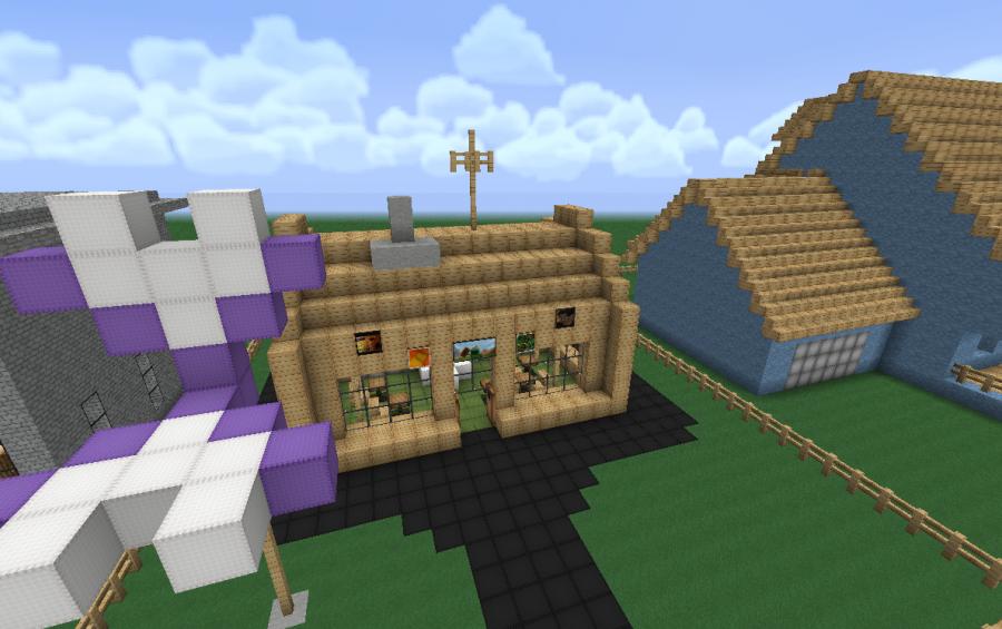Minecraft Krusty Towers The krusty krab The Krusty Krab Minecraft