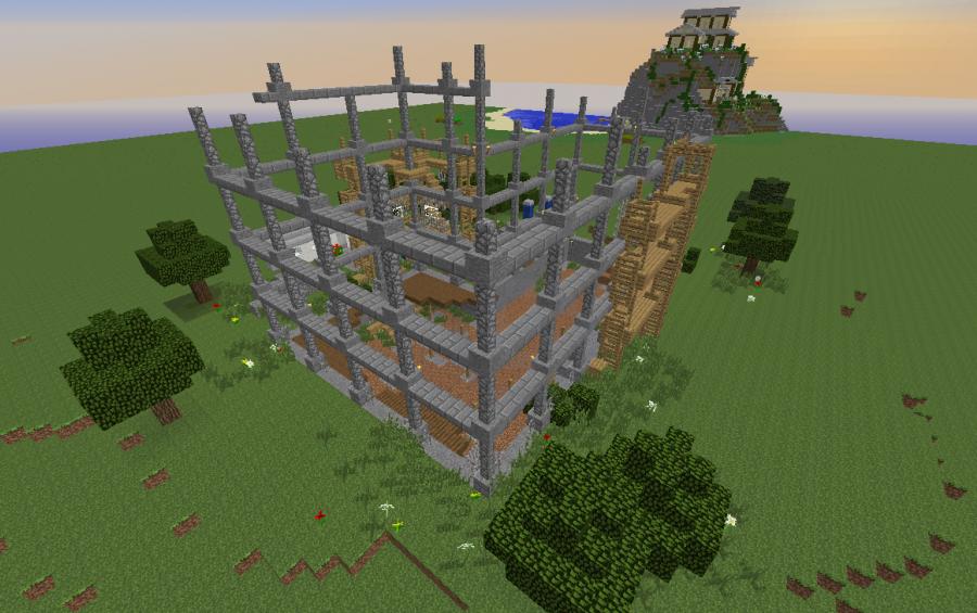 Construction site creation 3767 - Video minecraft construction ...
