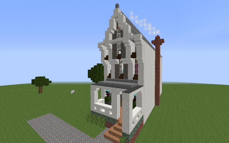 Victorian Row Home Creation 3805