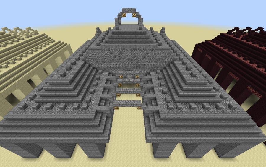 Sea Temple Vanilla 1 8 Creation 3953