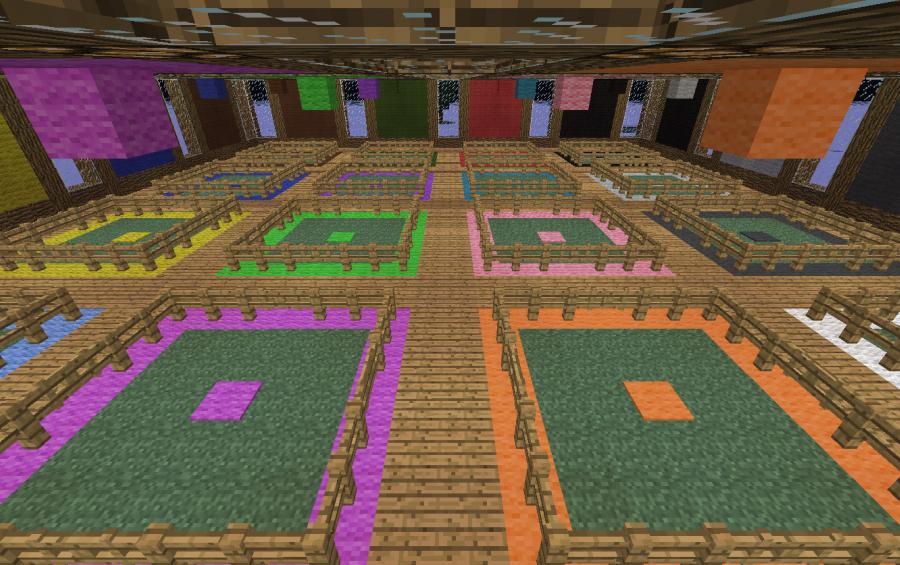 Color Coded Sheep Farm Creation 4158